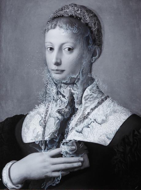 Cristallisation (Portrait d'une femme)
