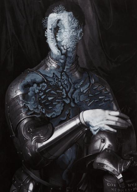 Cristallisation(Portrait de Cosimo de Medicis en armure)