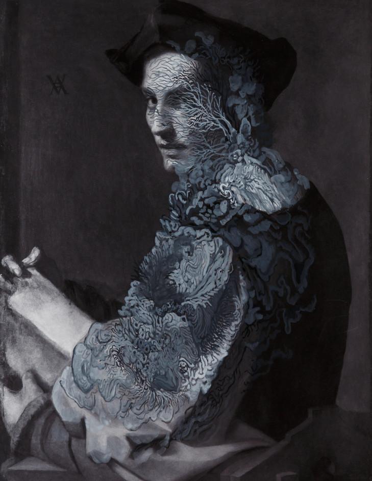 cristallisation (Portrait d'un jeune homme)