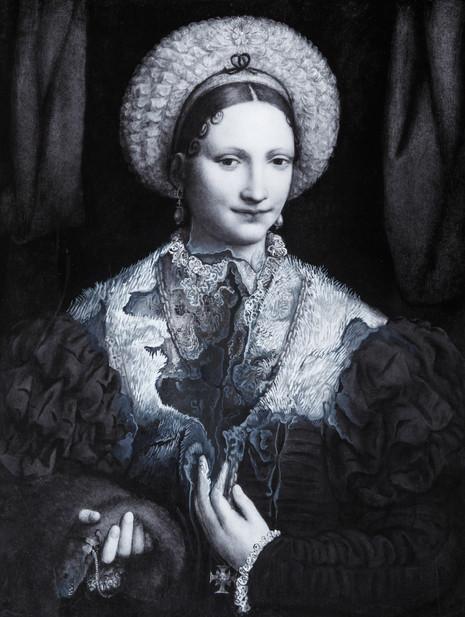 Cristallisation (portrait d'une Dame)