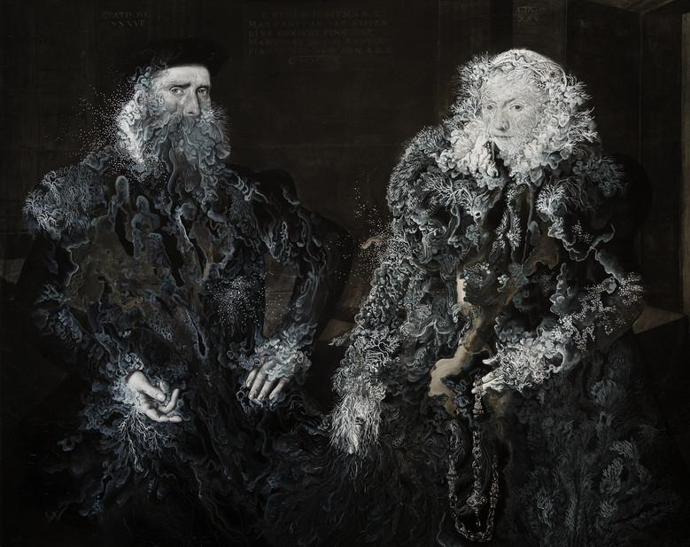 Cristallisation(Portrait de l'armateur Gillis Hooftman et de sa femme Margaretha van Nispen)