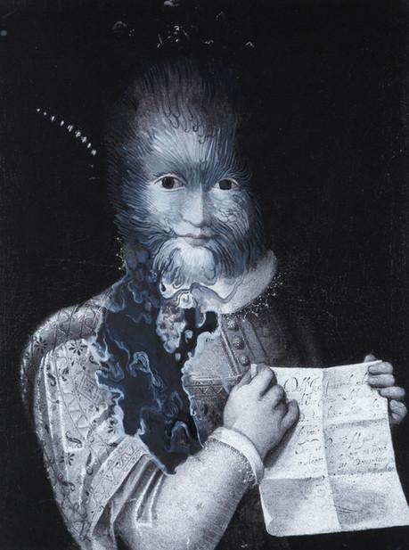 Cristallisation, (Portrait d'Antonietta Gonsalvus)