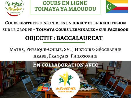 Des cours en ligne pour préparer au baccalauréat