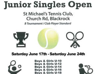 Juniors: Singles Open