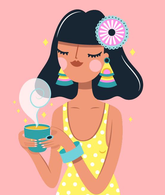 Flaquita Tea by Latina Money