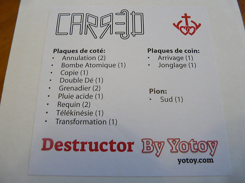 CARRED Extension Destructor (Destruction de terrain)