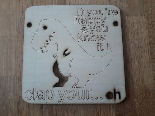 Dino Clap 19cm * 19cm