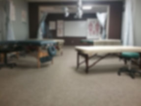 PNWMA massage therapy school classroom