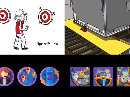 Why 2D flat illustrations?
