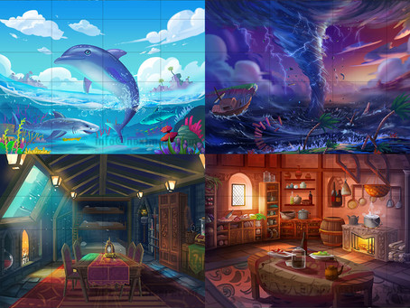 Create concept art for your project!