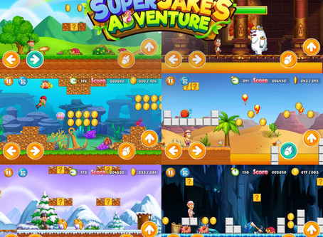 "Our Client's Game ""Super Jake's Adventure"" is Online!"