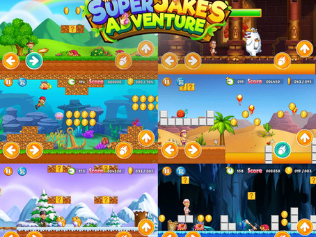 """Our Client's Game """"Super Jake's Adventure"""" is Online!"""