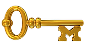 Discover Magic Gold Key Logo