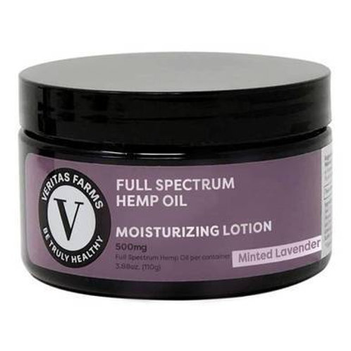 Veritas Farms - CBD Topical - Full SpectrumMinted Lavender Lotion - 500mg-1000mg