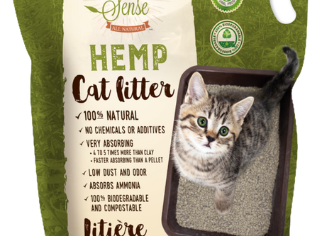 All Natural 100% Hemp Cat Litter vs. Silica