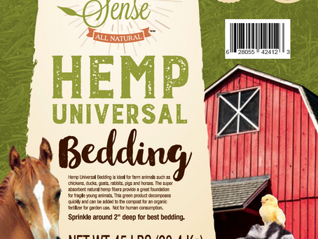 Hemp Universal Bedding For Chicken Coops