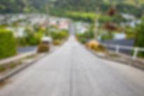 very steep Baldwin Road in Dunedin New Z