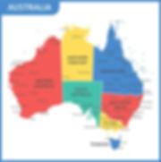 Australia Territorial Map