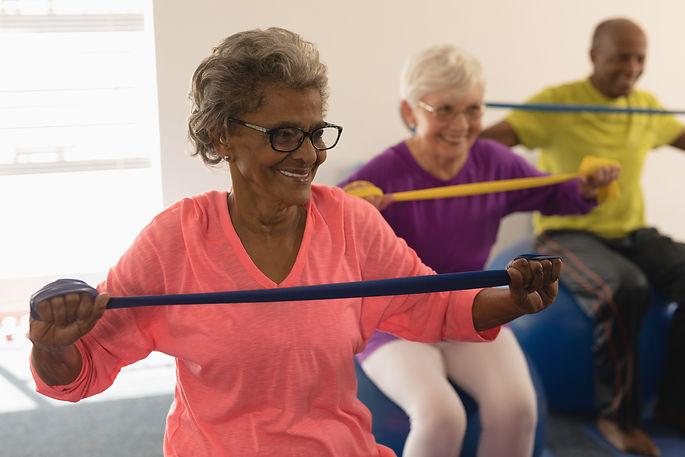 Black elderly fitness shutterstock_13133