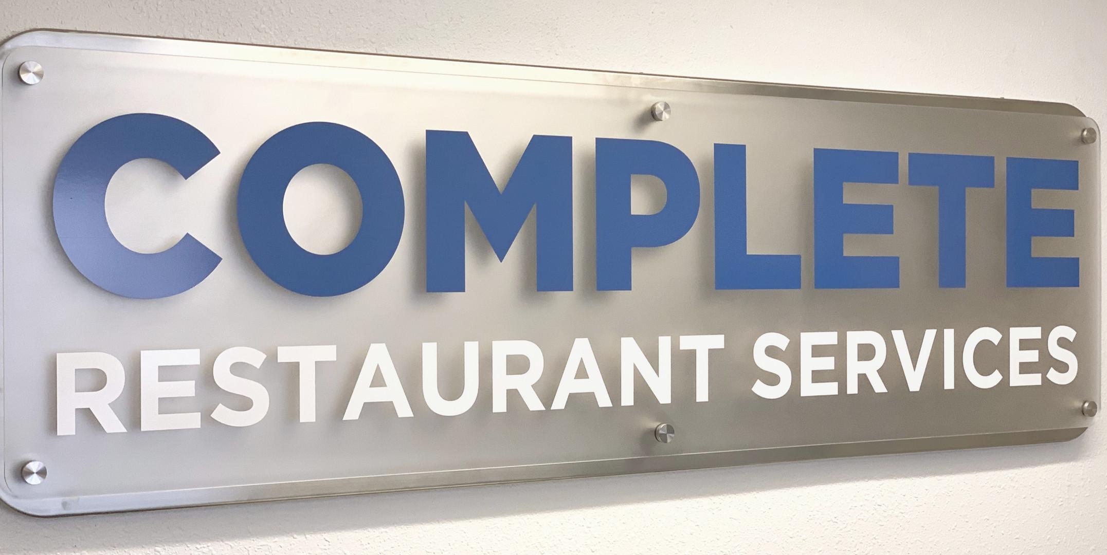 Complete Restaurant Services
