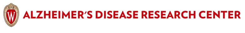 Wisconsin Alzheimer's Disease Research C