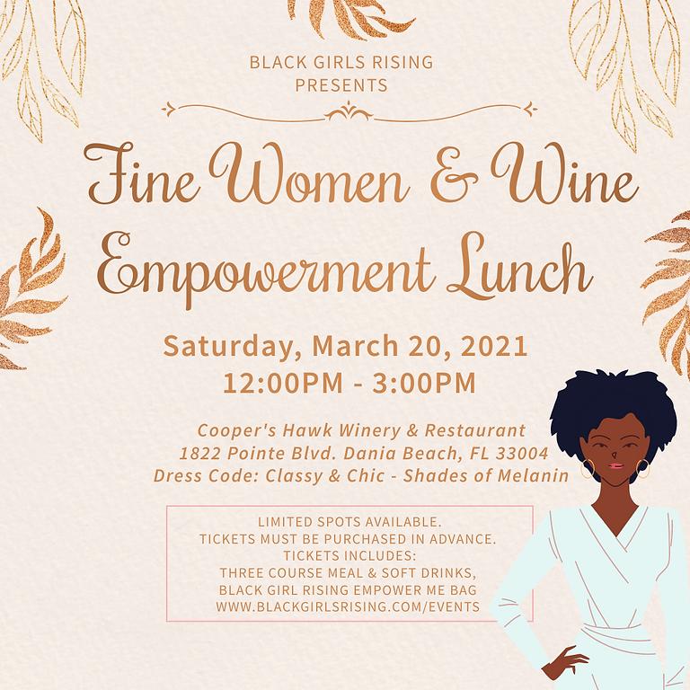 Fine Women & Wine Empowerment Lunch
