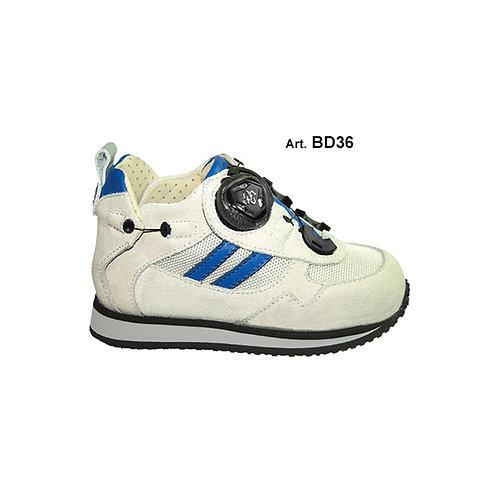 BD36 - BUDDY - White/ light blue