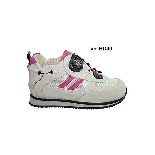 BD40 - BUDDY - White/pink