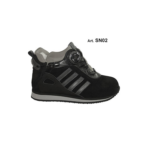 SN02 - SNOW - black/grey