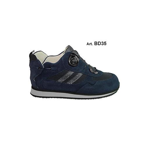 BD35 - BUDDY - Blue/glitter