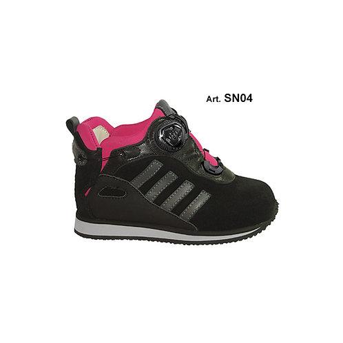 SN04 - SNOW - black/pink