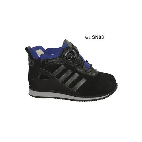 SN03 - SNOW - black/light blue