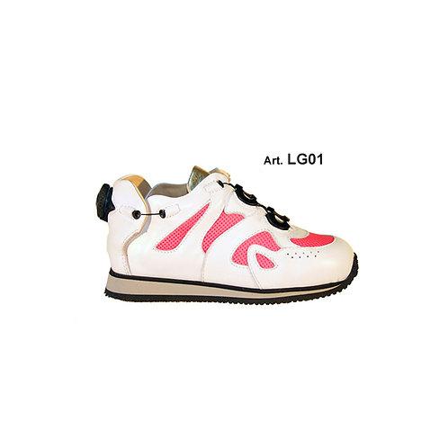 LG01 - LASER -White/pink