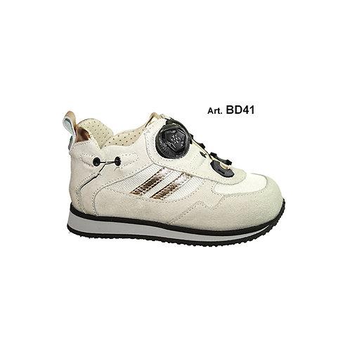 BD41 - BUDDY - White/Rose Gold