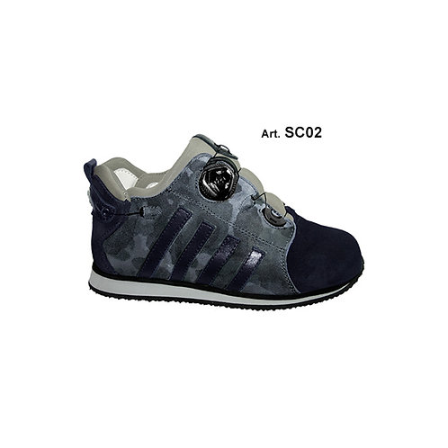 SC02 - SOCK - black/blue