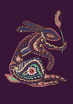 A hare's tail