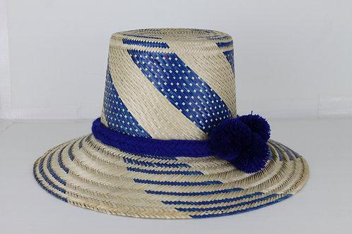 Sombrero Azul Azul