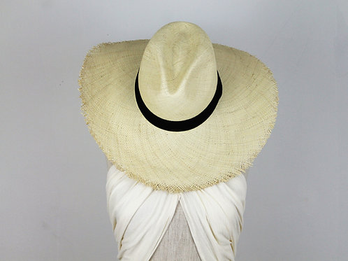Playa Frayed Toquilla Hat