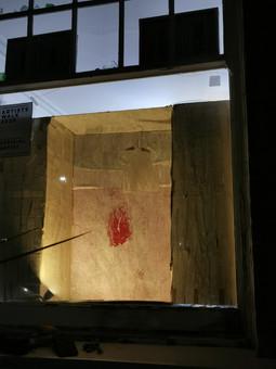 Artists Walk window installation