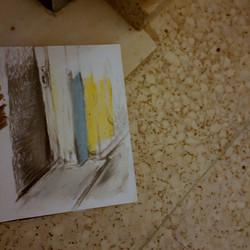 drawing of corners in situ