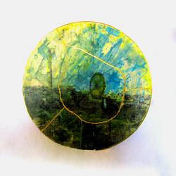 Wheel with Golden Wheel