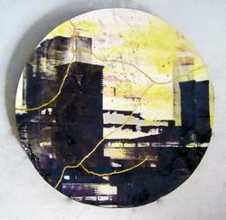 Yellow and Black Southbank (Kintsugi)