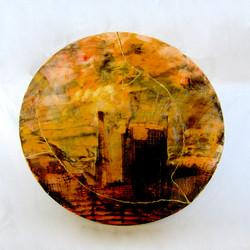 golden dusk with shard