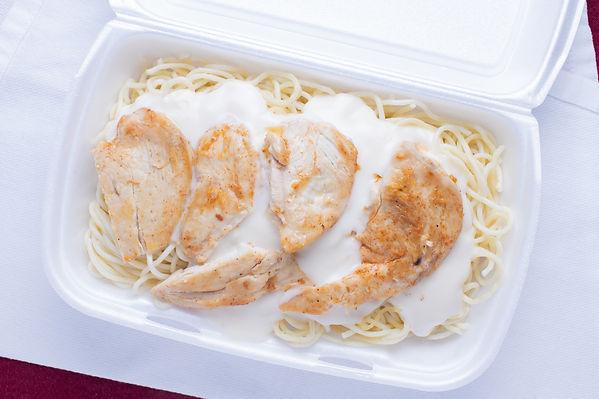 Grilled Chicken with Alfredo sauce on spaghetti.jpg