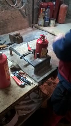 Ремонт огнетушителя порошкового