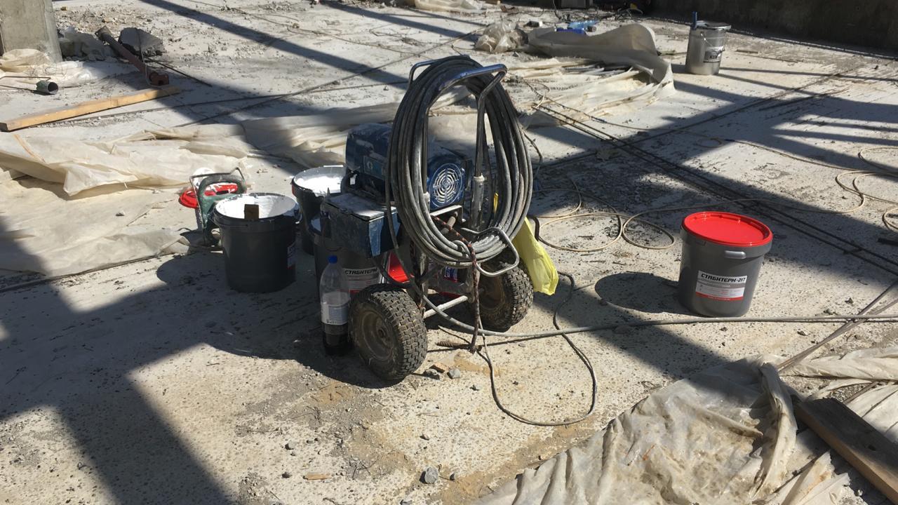Огнезащитная обработка - оборудование