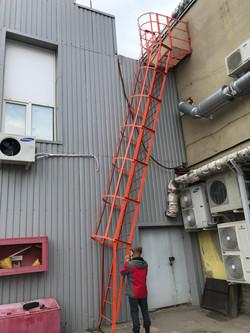 Испытание пожарных лестниц