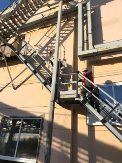 Испытание наружных пожарных лестниц