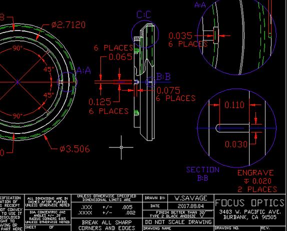 Autocad Blueprint