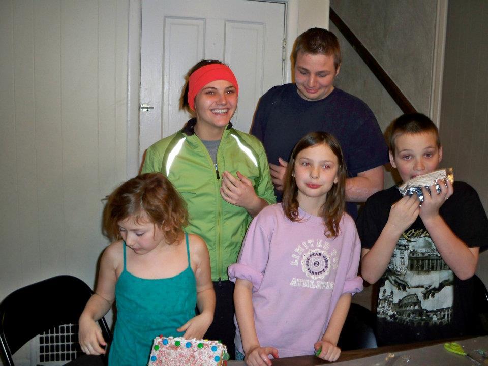 Edward's Children Baking